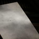 Taches groupe 2443 observées malgré les nuages